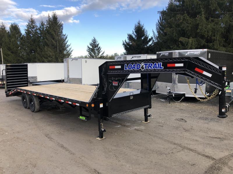 2022 Load Trail 25' 20+5 7Ton Gooseneck w/Max Ramps Equipment Trailer