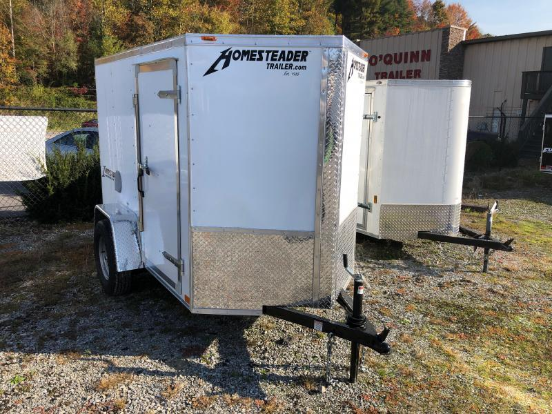2021 Homesteader Inc. 5x8 Intrepid sd ramp Enclosed Cargo Trailer
