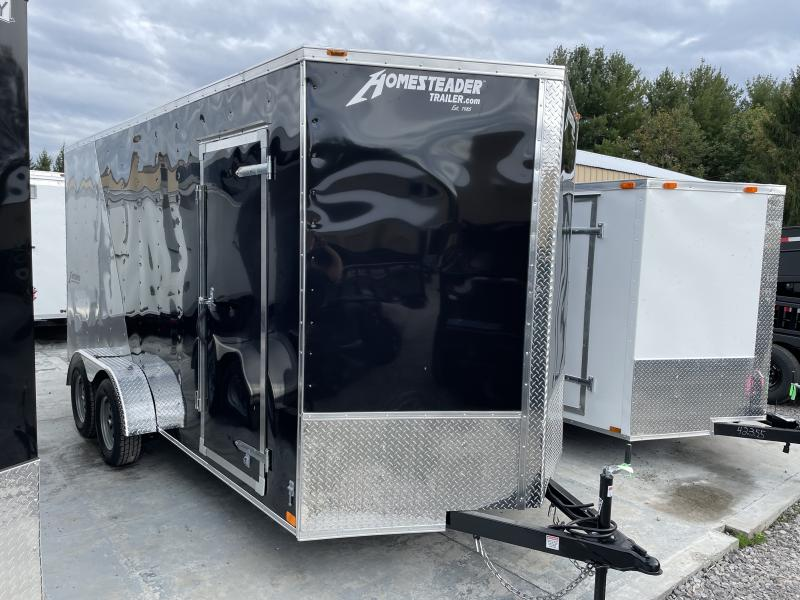 2022 Homesteader 7x16 Intrepid 2 tone 1ft extra height Enclosed Cargo Trailer
