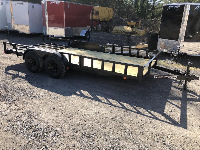 2021 Triple Crown 82x16 tandem axle side load ramps w/gate Utility Trailer
