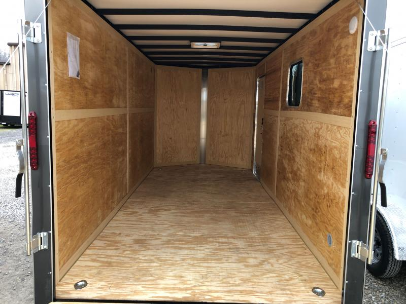 2021 Homesteader 7x16 Intrepid OHV pkg 1ft extra height W/WINDOW Enclosed Cargo Trailer