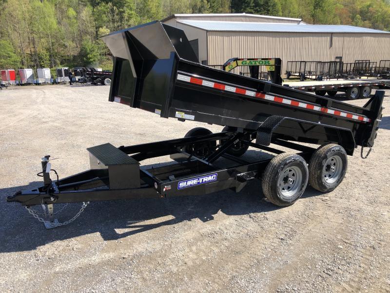 2021 Sure-Trac 6X12 5TON Low Profile Dump w/Ramps Dump Trailer