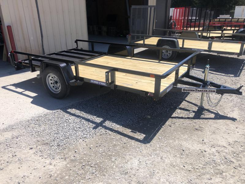 2021 Sure-Trac 82x12 Single Axle Tube Top Utility Trailer
