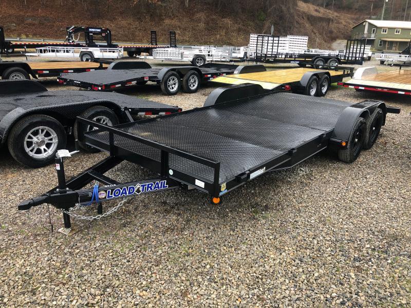 2021 Load Trail 83X18 Steel Floor Car Hauler Car / Racing Trailer