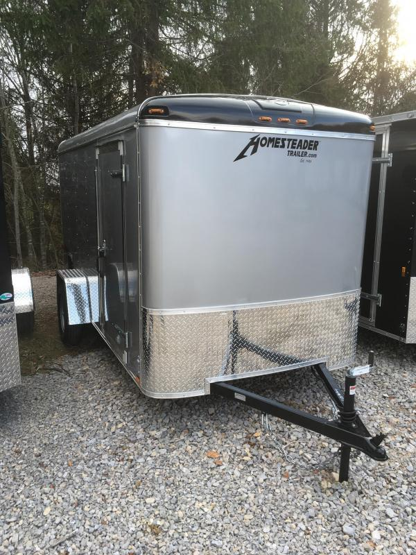 2021 Homesteader Inc. 6x12 challenger sd ramp Enclosed Cargo Trailer