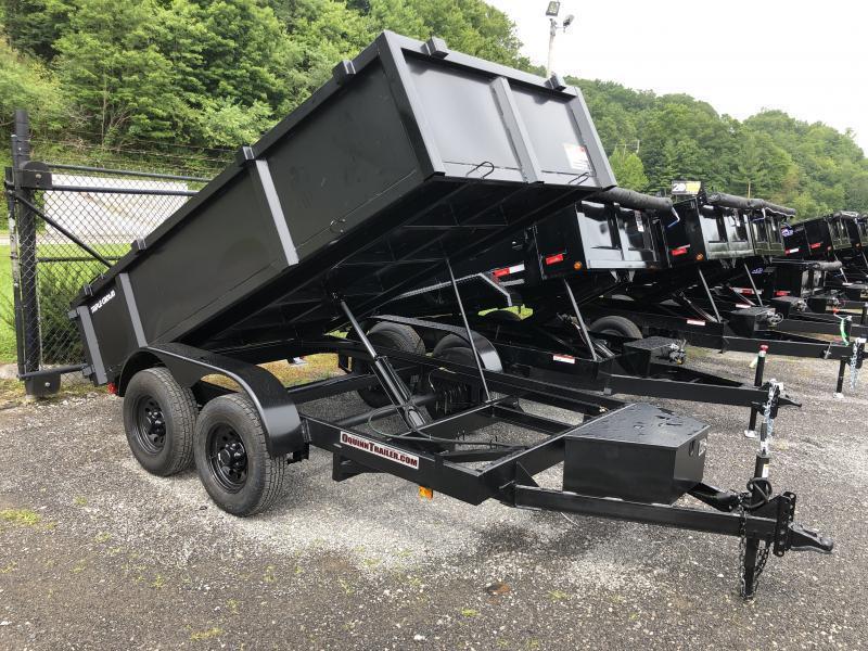 2021 Triple Crown 6X12 5TON Low Profile Barn Doors Dump Traile