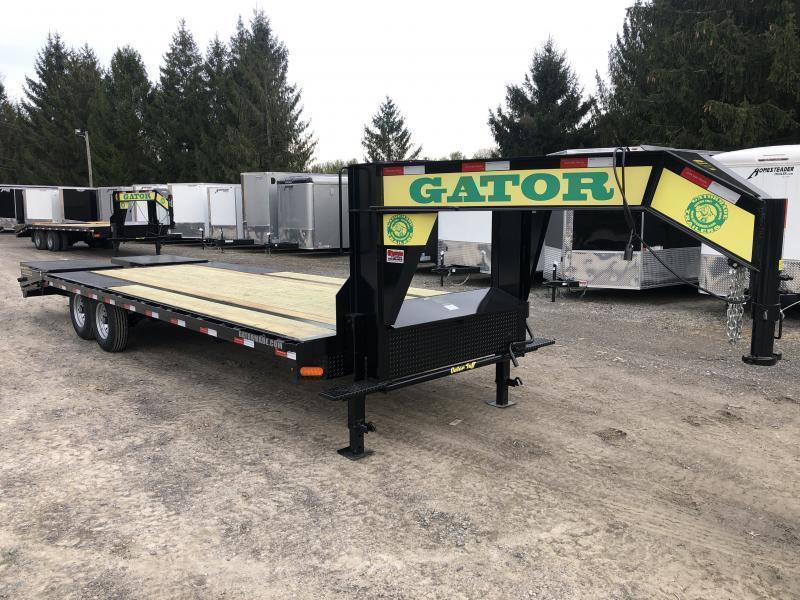 2021 Gatormade Trailers 25ft 8Ton Gooseneck big goliath ramps Equipment Trailer