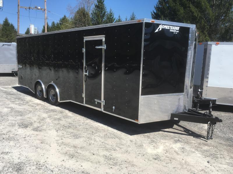 2021 Homesteader 824pt 5 ton spread axle car hauler Enclosed Cargo Trailer