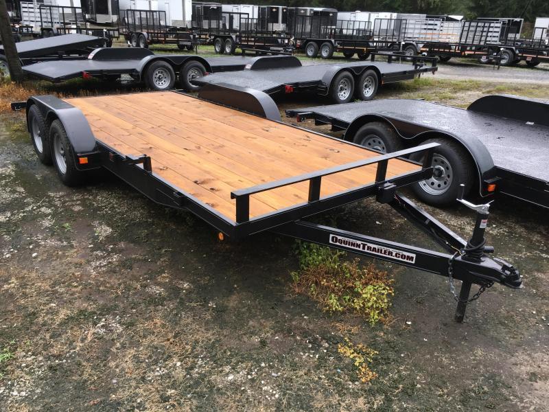 2021 Other 82x18 wood floor channel frame car hauler Car / Racing Trailer