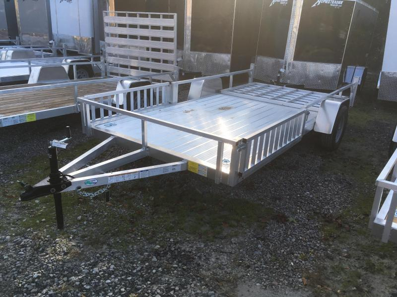 2022 Forest River Inc. 78x14 AFG all aluminum side ramps Utility Trailer