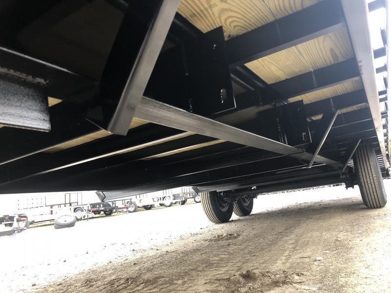 2022 Gatormade Trailers 25ft 8Ton Gooseneck big goliath ramps Equipment Trailer