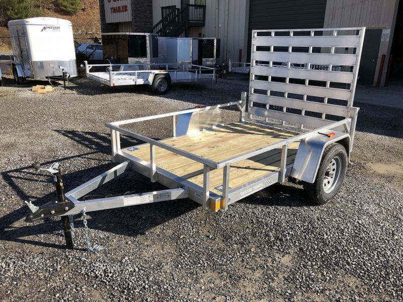 2020 Forest River Inc. 5.5x8 aluminum w/wood floor Utility Trailer