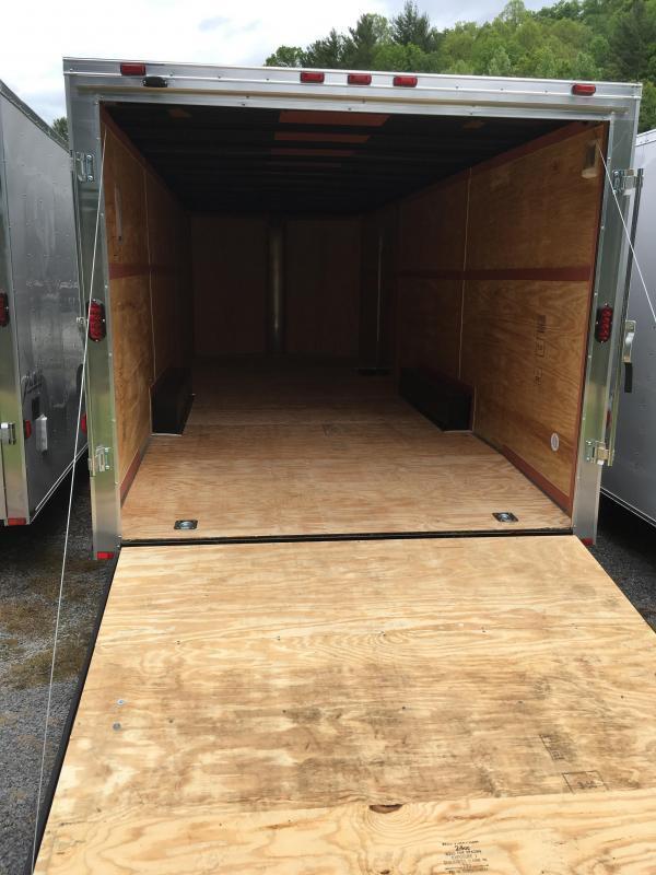 2021 Homesteader 8.5x24 intrepid 5 ton car hauler Enclosed Cargo Trailer