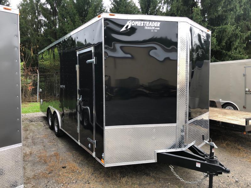 2021 Homesteader 8.5X20 7' tall Intrepid Car Hauler Enclosed Cargo Trailer