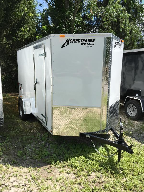 2022 Homesteader Inc. 6x12 Intrepid single axle sd ramp Enclosed Cargo Trailer