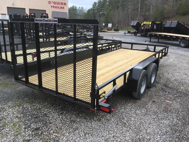 2021 Gatormade Trailers 82x18 Utility Trailer