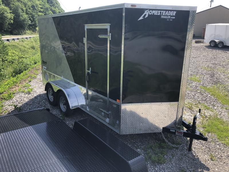 2020 Homesteader 7x14 Intrepid OHV Pkg 12in extra ht sd ramp
