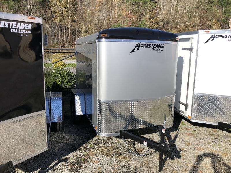 2021 Homesteader Inc. 5x8 challenger Swing door Enclosed Cargo Trailer