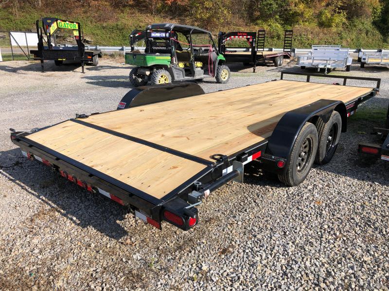 2021 Load Trail 83X20 Wood Car Hauler Removable Fenders 5C Car / Racing Trailer