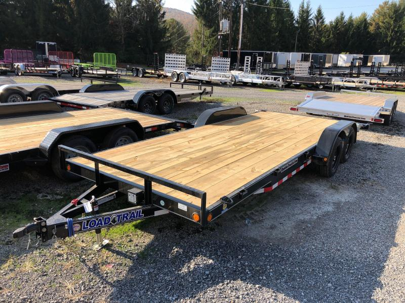 2021 Load Trail 83X20 Wood Car Hauler Removable Fenders 5C Car / Racing Trailer