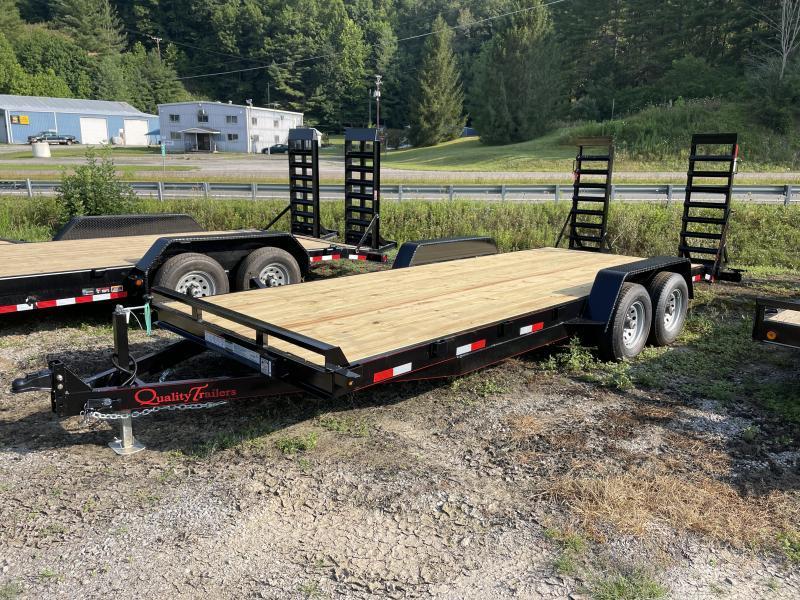 2022 Quality Trailers 82x20 5ton bumper pull Equipment Trailer