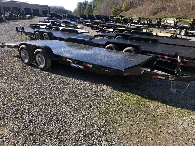 2021 Sure-Trac 82x20 5ton Steel Floor Car / Racing Trailer