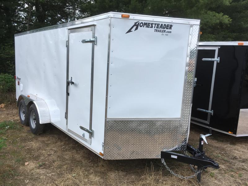 2021 Homesteader 7x16 Intrepid sd ramp Enclosed Cargo Trailer
