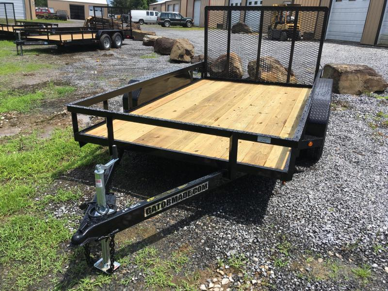 2021 Gatormade Trailers 82X12 TANDEM Utility Trailer