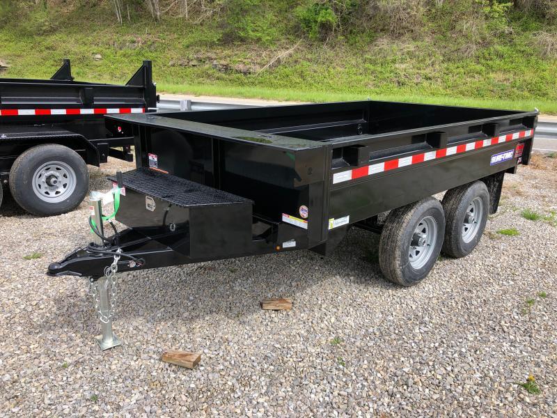 2021 Sure-Trac 6X10 5TON DECKOVER Dump Trailer