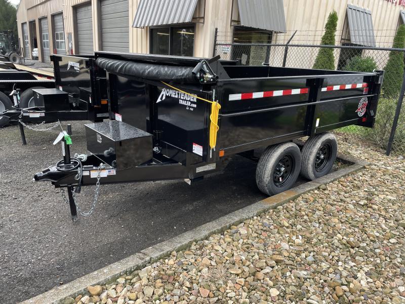 2022 Homesteader 6x10 3.5 ton W/TARP Dump Trailer
