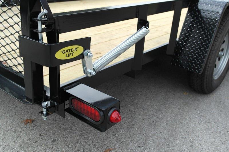 2021 Gatormade Trailers 76x12 gate single axle Utility Trailer