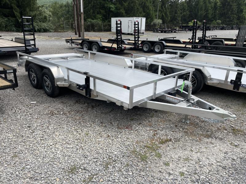 2021 Sure-Trac 82X16 Tandem All Aluminum Utility Trailer