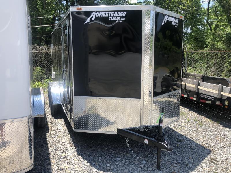 2021 Homesteader Intrepid 7x16 tandem axle double door Enclosed Cargo Trailer