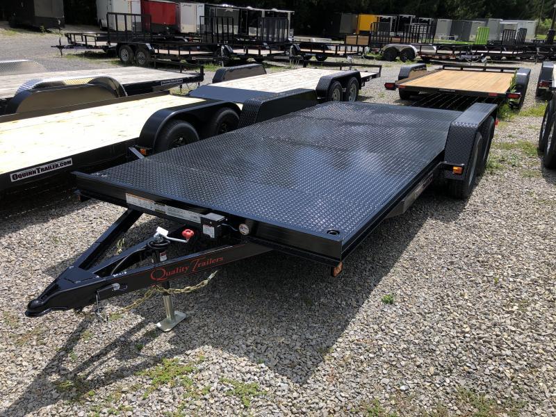 2021 Quality Trailers 82x18 steel car hauler Car / Racing Trailer