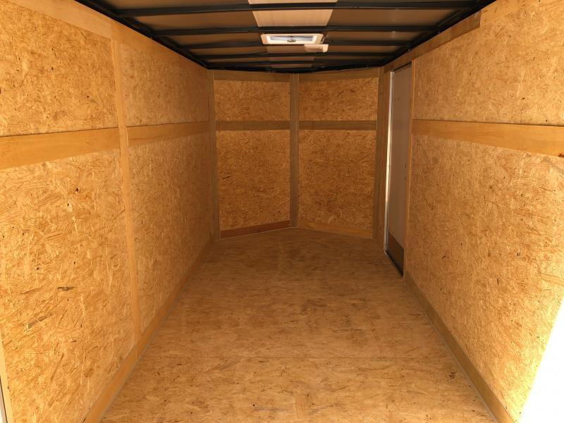 2021 Cynergy Cargo 6x12 vnose ramp Enclosed Cargo Trailer