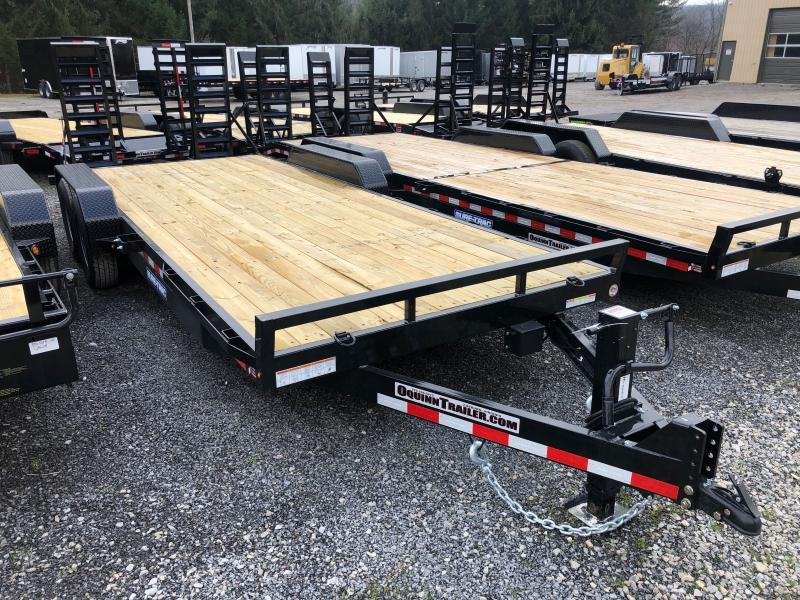 2021 Sure-Trac 82x20 7Ton 12k jack Equipment Trailer