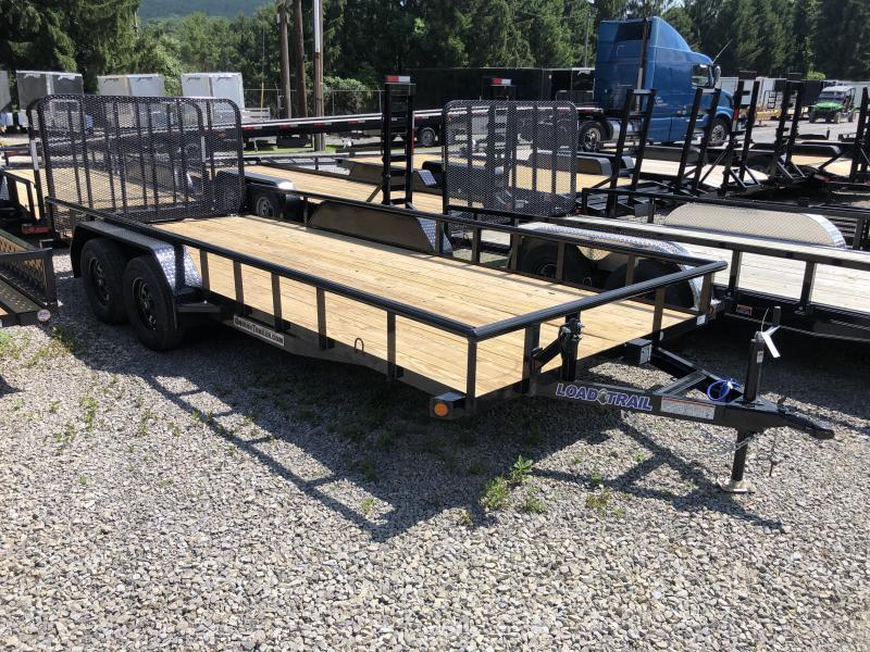 2020 Load Trail 83X18 w/Rear Gate Utility Trailer