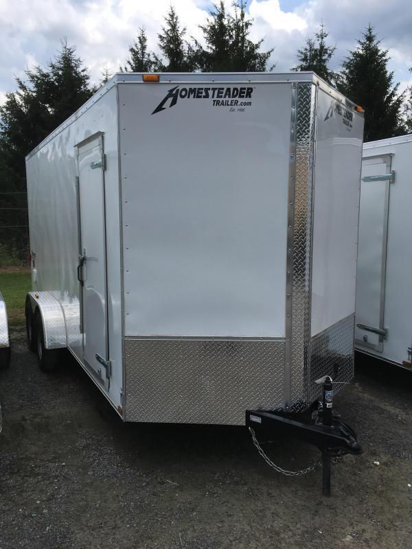 2021 Homesteader 7x16 Intrepid 1ft extra height sd ramp Enclosed Cargo Trailer