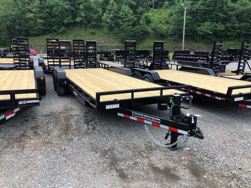 2021 Sure-Trac 82x22 7Ton 12k jack Equipment Trailer
