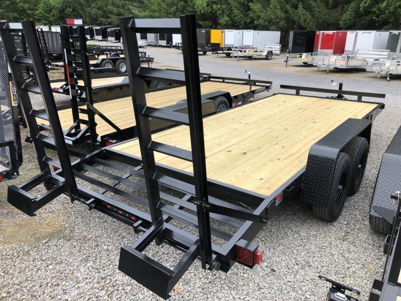 2021 Triple Crown 82x18 5ton equipment trailer