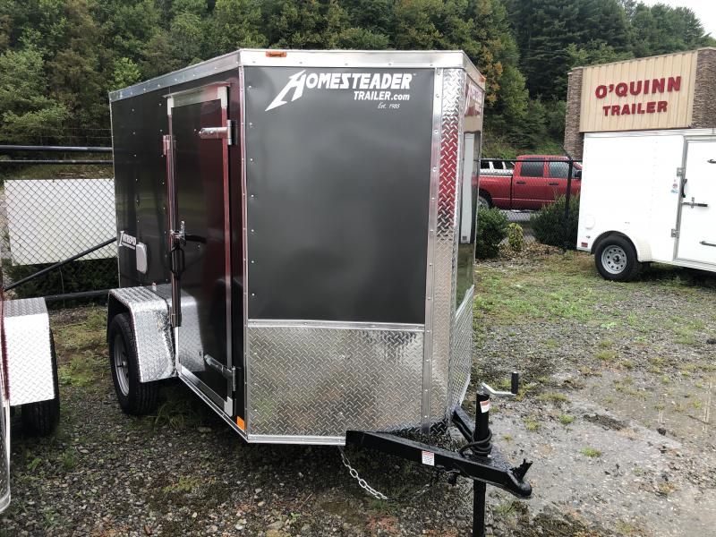 2021 Homesteader Inc. 5x8 Intrepid sd ramp Enclosed Cargo Trailer