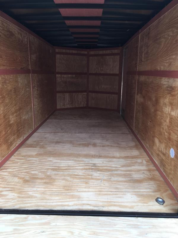 2022 Homesteader 7x16 Intrepid 6in extra height SD RAMP Enclosed Cargo Trailer