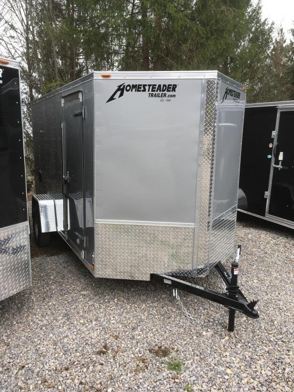 2021 Homesteader Inc. 6x12 Intrepid single axle sd ramp Enclosed Cargo Trailer