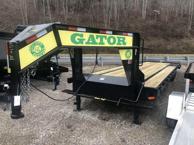 2021 Gatormade Trailers 30ft 8Ton Gooseneck big goliath ramps Equipment Trailer