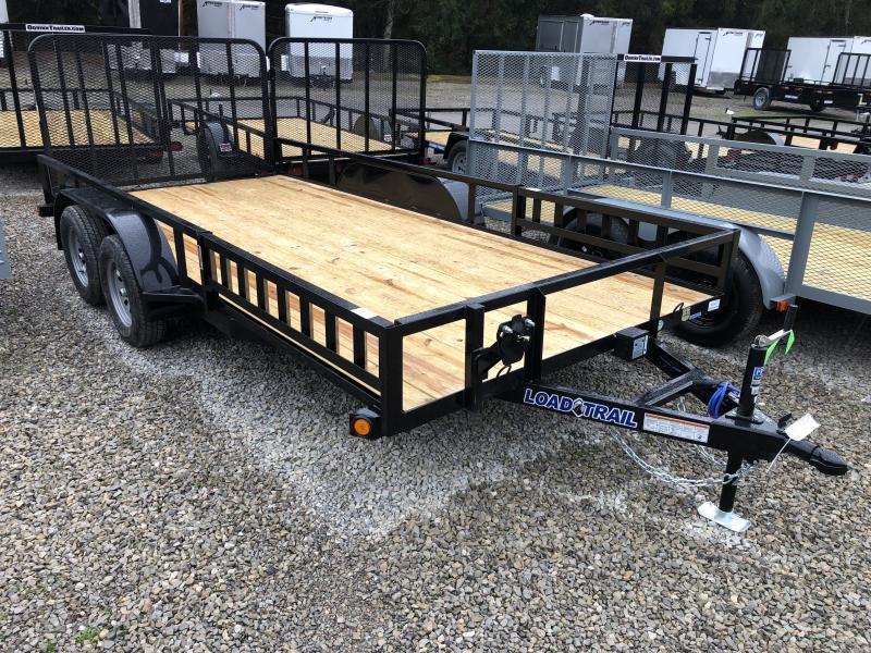 2021 Load Trail 83X16 Side Load Ramps w/Rear Gate Utility Trailer