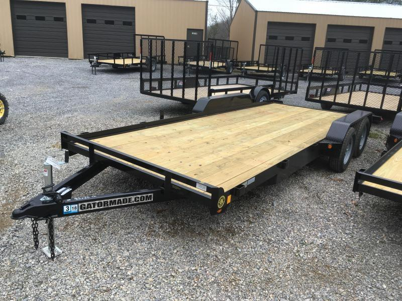 2021 Gatormade Trailers 20ft dovetail wood car hauler Car / Racing Trailer