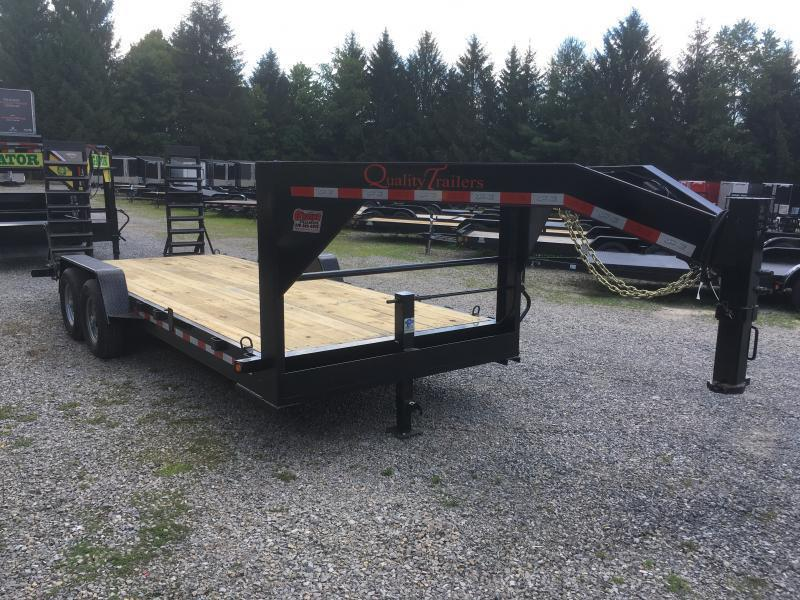 2021 Quality Trailers 82x20 7ton Gooseneck Equipment Trailer