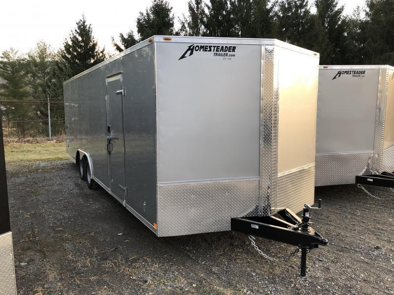 2021 Homesteader 824it 3 1/2 ton car hauler Enclosed Cargo Trailer