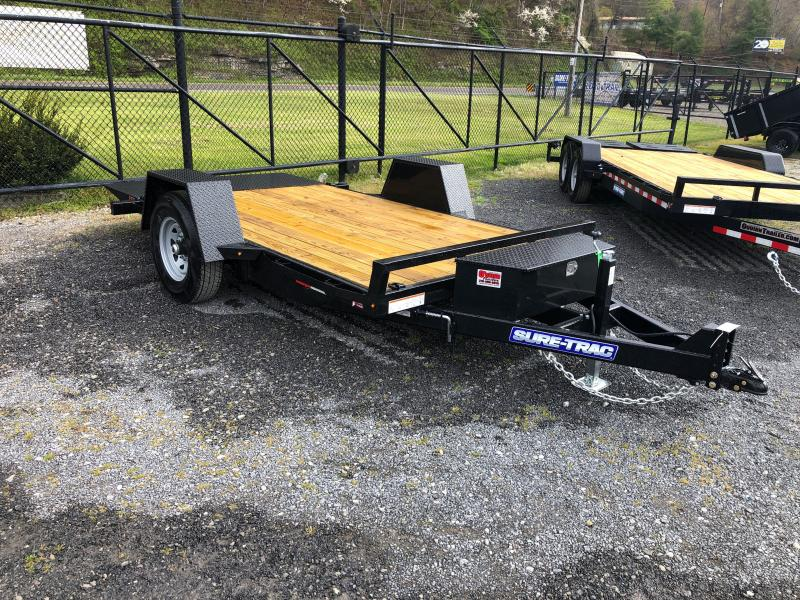 2021 Sure-Trac 78X12 7.8K TILT Equipment Trailer