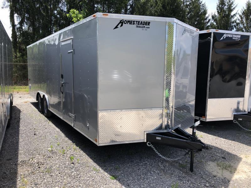 2021 Homesteader 24ft 5ton car hauler with escape door Enclosed Cargo Trailer